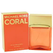 <b>Michael Kors Coral</b> by Michael Kors 3.4oz Eau De Parfum Spray ...