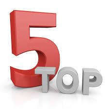 Resultado de imagen para top five