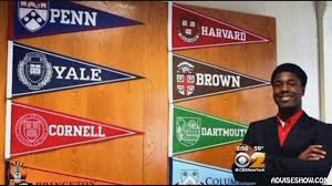 teen gets accepted to all ivy league schools