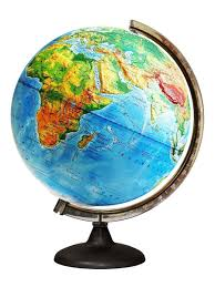 <b>Глобус</b> Земли физический рельефный с подсветкой, диаметр ...