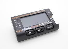 HobbyKing™ <b>Cellmeter</b>-<b>7 Universal</b> Digital Battery Checker/Balancer