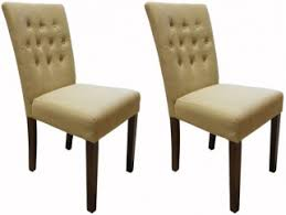baumhaus shiro walnut flare back biscuit upholstered dining chair pair baumhaus hidden home office