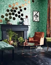 Wallpaper Decoration For Living Room Transform Your Living Room With Statement Wallpaper The Room Edit