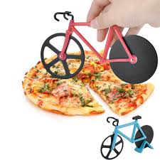 <b>Bike</b> Round <b>Pizza Cutter knives</b> Stainless Steel Pizza <b>Knife</b> Two ...