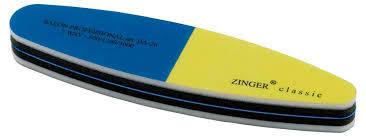 Купить <b>Пилочка для ногтей</b> Zinger <b>многослойная</b> наждачная, 1 шт ...