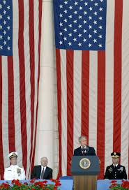 u s department of defense photo essay president bush delivers a memorial day address in the tomb of the unknowns amphitheater at arlington