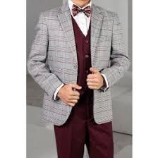 Statement Boy's <b>3 Piece</b> Suit - <b>Stylish</b> Plaid