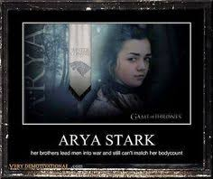 LMAO!!! Brace Yourselves, Arya Stark Is Coming (Of Age) - Meme ... via Relatably.com