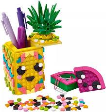 Лего <b>DOTs</b> 41906 <b>Подставка</b> для карандашей «Ананас» <b>Lego</b>