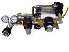<b>SITEKE Air Pressure Booster</b> Pump AB15 15:1 Ratio Increasing ...