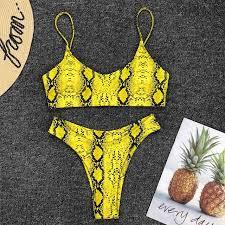 6 colors sexy bikini set 2019 new phnom penh color matching rope 2 piece ladies swimwear mini thong brazilian push up