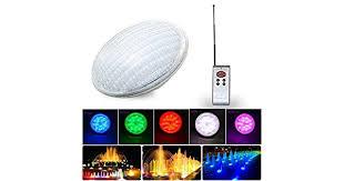 LED Bulb Light AC/<b>DC 12V</b> Led Swimming Pool Light <b>45W</b> RGB ...