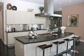kitchen backsplash stainless steel tiles:  stainless steel backsplash requires strong backing