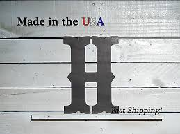 "8"" <b>Metal Letter</b>-Western Decor-Saloon <b>Letters</b>-<b>Bold Letters</b>-Old ..."