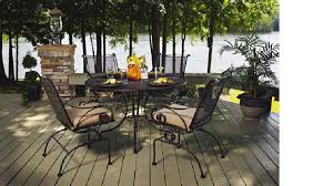 50 off meadowcraft monticello dining set wrought iron patio for wrought iron patio furniture wrought black wrought iron patio