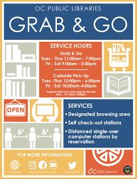 <b>Grab & Go</b> FAQ   OC Public Libraries