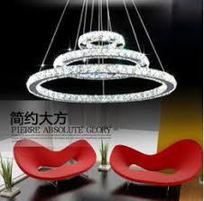 cheap factory price led lustre crystal chandelier lighting modern dining room pendant lamp living room creative design pendant light dhl cheap office lighting