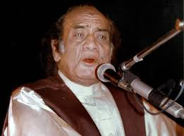 Mehdi-Hassan 'Ab ke hum bichhade to shaayad kabhii khwabon mein milen' (If we part now, ... - Mehdi-Hassan