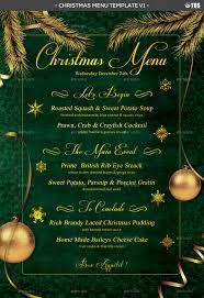 christmas menu template v1 by lou606 graphicriver menu template v1 jpg