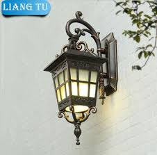 Europe outdoor Wall lamp garden lights Lampshade E27 Edsion ...