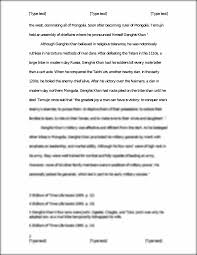 research paper genghis khan and the mongol military  this is the end of the preview sign up to access the rest of the document unformatted text preview genghis khan