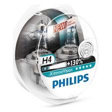 <b>Лампа</b> галогенная <b>PHILIPS</b> H4 <b>X</b>-<b>treme</b> Vision 3700K 12V 60/55W ...