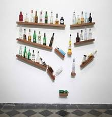 20 diy ideas for decorating your homes part 1 perfect bar for an imperfect attractive home bar decor 1