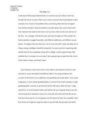 englishdescriptive essay  keyuna thomas thomas s murrell pages englishcause and effect essay