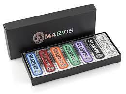 <b>Marvis</b> Gift <b>Set</b> Black <b>7</b> x 25 ml - Подарочный <b>набор</b>, 411100 ...