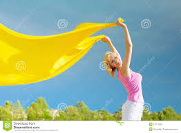 Image result for yellow scarf