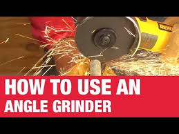 How To Use An Angle Grinder - Ace Hardware - YouTube