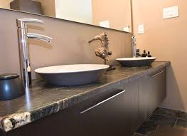 pebble tile bathroom contemporary amazing