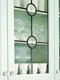 kitchen cabinets glass doors design style: leaded glass cabinet doors traditional leading with textured glass lends an old world feel