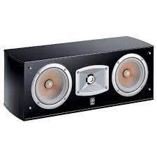 <b>Центральный канал Yamaha NS-C444</b> black (Elliptical form)