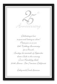 th anniversary invitation templates com 25th anniversary invitation templates