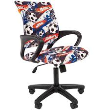 Купить <b>Кресло компьютерное</b> Chairman <b>Kids</b> 103 Football в ...