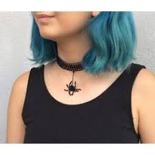 <b>Spider</b> Choker, <b>Halloween</b> Jewelry, Black <b>Lace Choker</b>, Beaded ...