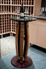 1000 ideas about wine barrel bar on pinterest barrel bar wine barrels and wine barrel table arched table top wine cellar furniture