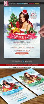 christmas party poster flyer by minkki graphicriver christmas party poster flyer holidays events