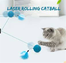 Yooap Creative <b>Cat Toys</b> Interactive <b>Automatic</b> Rolling Ball for Dogs ...