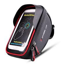 <b>Front Bike</b> Phone Holder Key Tool Light Storage <b>Bag</b> Riding ...