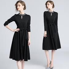 <b>Autumn</b> Season Large Size <b>Women's</b> Slim Banquet <b>Dress Nail</b> ...