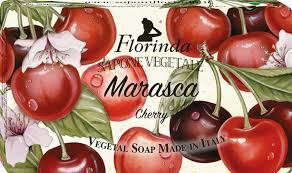 FLORINDA <b>Мыло</b> растительное, вишня / <b>Marasca</b> 200 г купить в ...