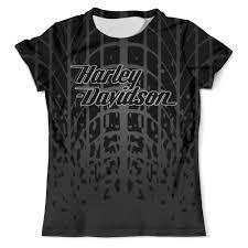 """Футболка с полной запечаткой (мужская) """"<b>Harley-Davidson</b> ..."""