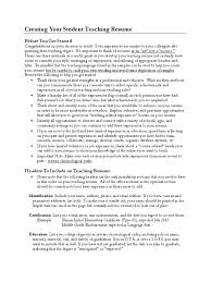 creating your student teaching resume from depaul university