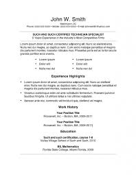 word job resume template example  tomorrowworld coword