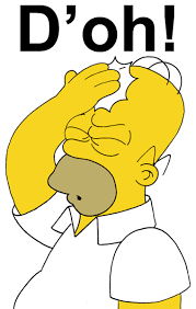Image result for d'OH homer simpson