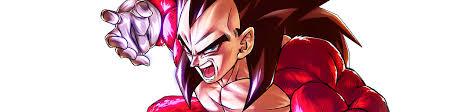 <b>Super Saiyan 4 Vegeta</b> (DBL19-07S) | Characters | Dragon Ball ...