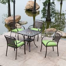 us ashoka outdoor furniture leisure furniture aluminum chairs combination villa balcony garden cast iron balcony outdoor furniture