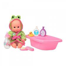 Toys Lab <b>Набор</b> для купания с <b>пупсом Play Baby</b> - Акушерство.Ru